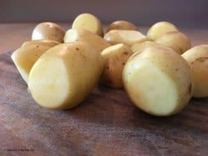 Kartoffeln ohne Keime.