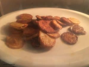 Bratkartoffeln in der Mikrowelle
