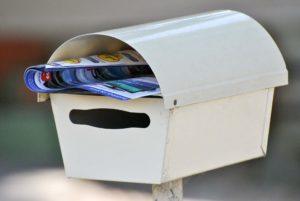 Briefkastenwerbung gehört zu den gängigen Marketing Tricks