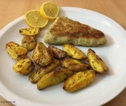 Filetspitzen mit Kartoffelspalten