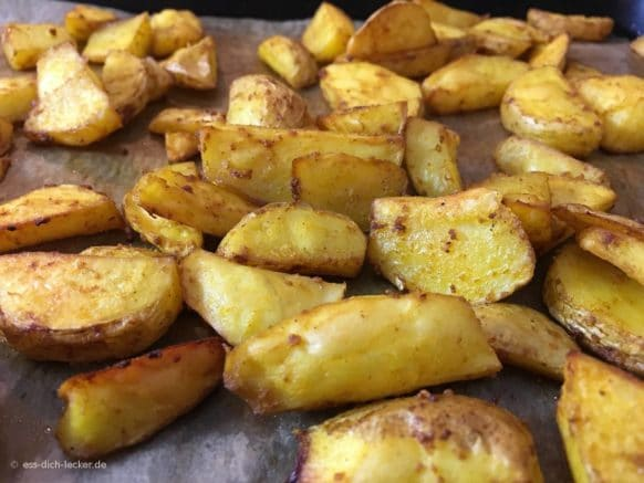 Kartoffelspalten fertig